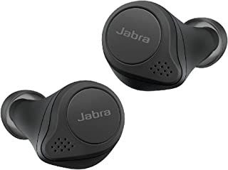 Jabra Elite 75t Earbuds – Active Noise Cancelling Bluetooth Headphones with Long Battery Life for True Wireless Calls and Music – Black