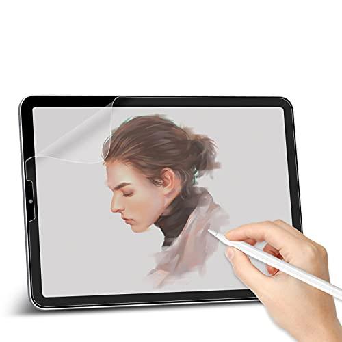Svanee Paper-Feel Matte Schutzfolie für iPad Air 4 2020, iPad Pro 11 Zoll (2021/2020/2018), [2 Stück] Anti-Reflexion & Blendfrei, Unterstützt Pencil, zum Schreiben, Zeichnen & Notizen machen