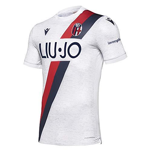 Bologna FC 1909 Gara Away Senior Bologna FC 2019/2020 Camiseta, Gris Luminoso (ral 7035), M