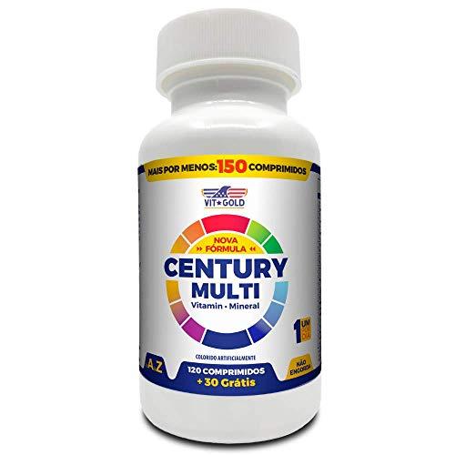 Multivitaminico Century Multi Vitgold 150 comprimidos