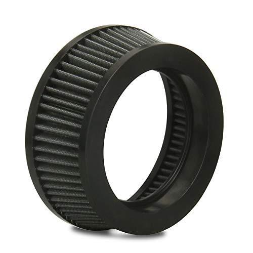 Durchsichtige Klarheit Luftfilter Element für Harley Touring Street Glide Dyna Softail Sportster (Graue Farbe)