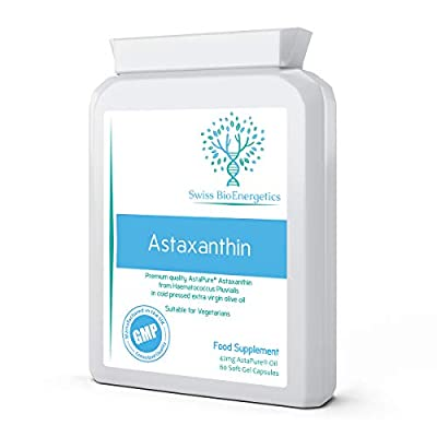 Astaxanthin 4mg 60 Soft Gel Capsules - strongest natural antioxidant in the world - highest grade naturally cultivated in Nelson, New Zealand