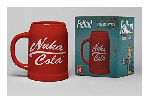 Fallout Nuka Cola Unisex Bierkrug Mehrfarbig Keramik Bethesda, Fan-Merch, Gaming