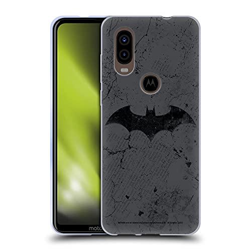 Head Case Designs sous Licence Officielle Batman DC Comics Logo en détresse Hush Coque en Gel Doux Compatible avec Motorola P40
