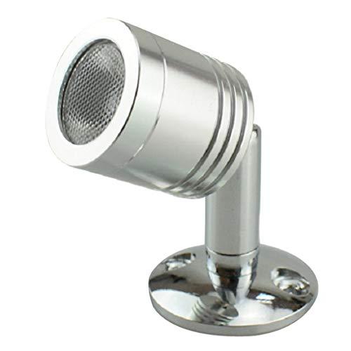 B Blesiya LED 1,5 W 100 lm mini spotlight spotlight showcase display lampa – varm vit 3 000 K, 250 mm