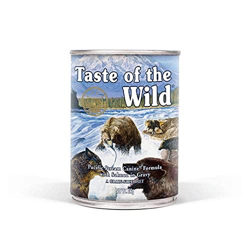 Taste Of The Wild Alimentacion Humeda con Salmon pack de 12 x390 gr Pacific Stream ✅