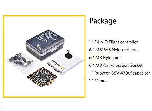 F7 AIO Flight Controller SpeedyBee Betaflight Bluetooth 8Pin Connector w/OSD Current Sensor Barometer 5V for RC Drone