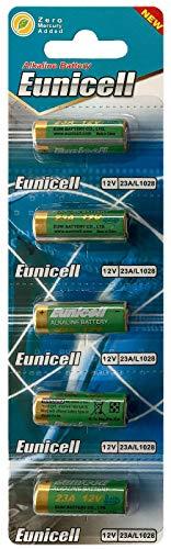 Eunicell Pilas alcalinas MN21, 23A, V23GA, L1028, A23, desechables, 20 unidades