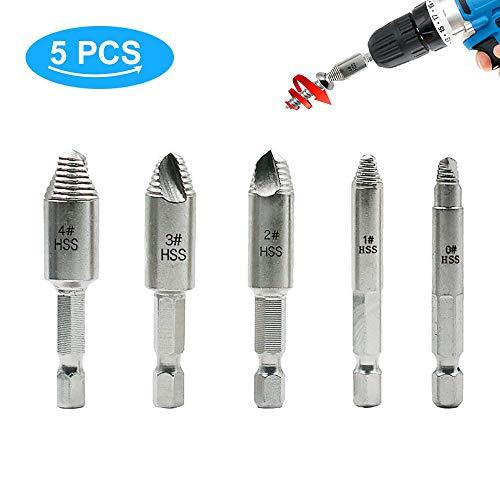 """5pcs Magnétique Douille Embout 1//4/"""" Hex Socket 10 mm Fit Impact Drive Drill Bit Set"""