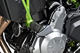 Puig 9355N Crash Pads Compatible con Kawasaki Z650 2017, Negro (Black)