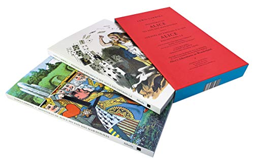 Aventuras de Alice no país das maravilhas seguidas de Através do espelho e o que Alice encontrou lá: Box com 2 volumes