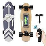 Tooluck Electric Skateboard mit drahtloser Fernbedienung, 20 km/h Höchstgeschwindigkeit, 350 W...