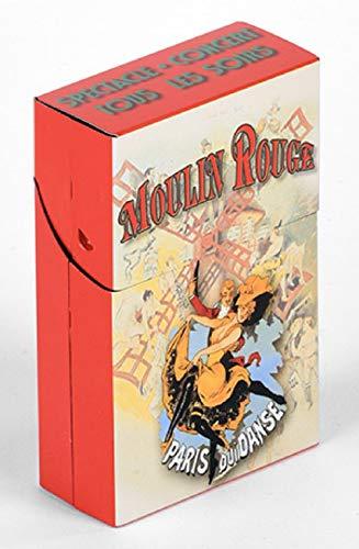 Boites Metal Decoratives Boite A Cigarettes PUB Retro Moulin Rouge Paris Qui Danse