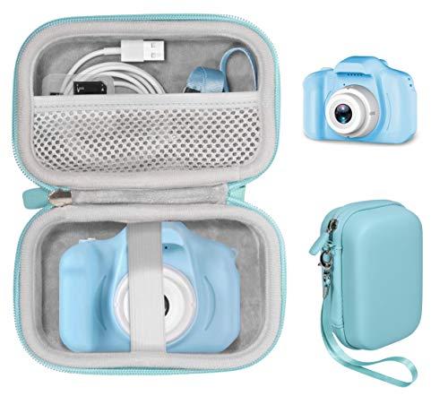 CaseSack Case for Kids Camera like WOWGO, Cocopa, hyleton, AIMSON, Sekton, Desuccus, NINE CUBE, ishantech, SUZIYO, Hamdol, TODOZEN, Magicfun, Balhvit, Sinceroduct, GKTZ, Rindol, Hachi's, AOGELI (Blue)