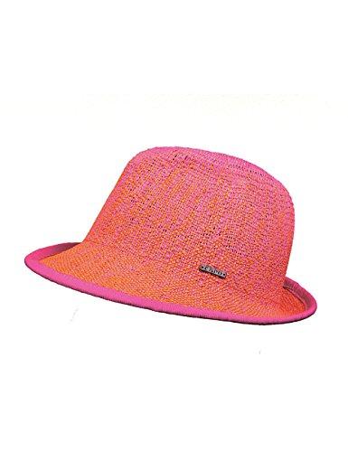 Capo Damen Ibiza Color HAT Sonnenhut, Orange (Pumpkin 34), One Size (Herstellergröße: o.s.)