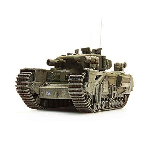 "JHSHENGSHI Modelo de Tanque de plástico Militar 1/87, Modelo con Acabado de Tanque de la Segunda Guerra Mundial Alemania ARTITEC 387.119"""