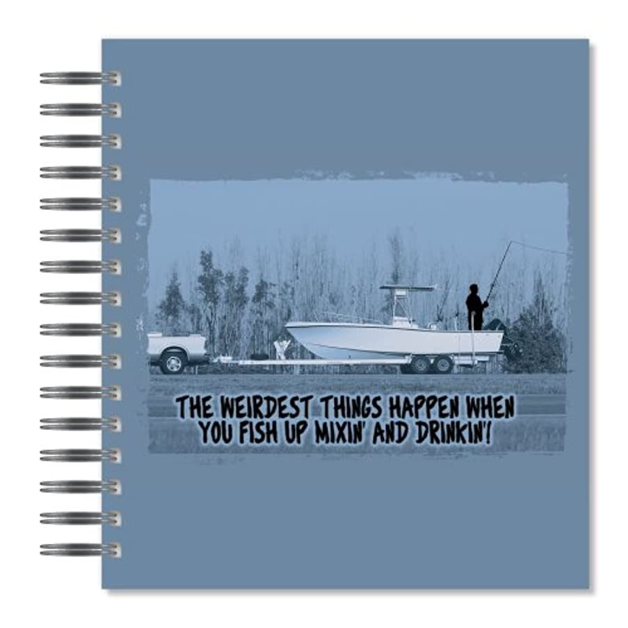 ECOeverywhere Weirdest Things Picture Photo Album, 18 Pages, Holds 72 Photos, 7.75 x 8.75 Inches, Multicolored (PA14252)