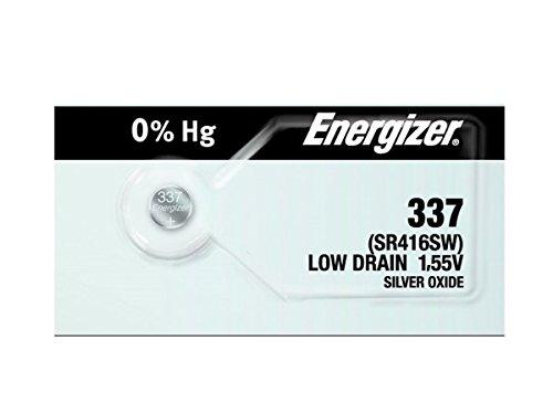 2PC Energizer 337SR416SW Silberoxid Zelle Armbanduhr Akku