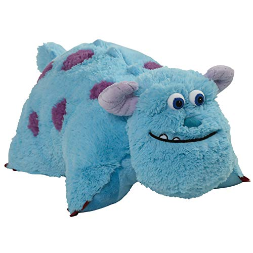 Pillow Pets Monsters Inc 16' Sulley Stuffed Animal, Disney Monsters University Plush Toy