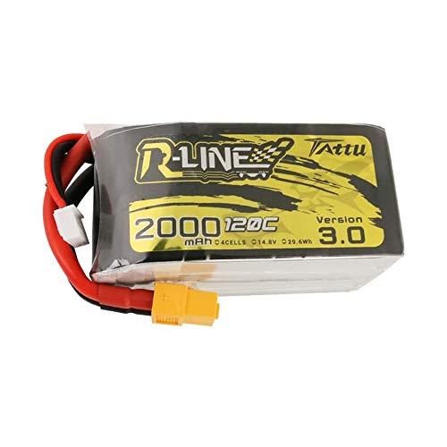 Gens Ace TATTU R-Line 3.0 LiPo Akku 4S 2000mAh 14,8V 120C FPV Racing