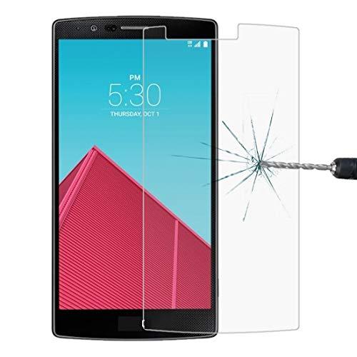 Tangyongjiao Accesorios para Celular Película de Vidrio Templado de Grosor de0.26mm, dureza Superficial de 9H y Borde de Arco de 2.5Da Prueba de explosiones para LG G4