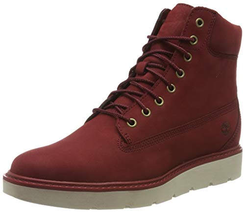 Timberland Damen Kenniston 6 Inch Lace Up Stiefel, Rot (Dark Red Nubuck), 36 EU