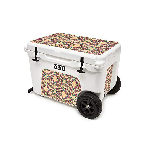 MightySkins (Cooler Not Included) Skin Compatible with Yeti Tundra Haul Cooler - Grass Hopper | Protective, Durable, and Unique Vinyl Decal wrap Cover | Easy to Apply | Made in The USA