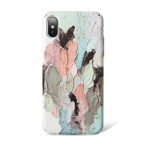 bb-5 3D Relief Case for iPhone 8 8 Plus Luminous Phone Case for iPhone X XS Max 7 7 8 Plus 6 6S Plus XR Back Cover,Colorful,for iPhone 6 6s Plus
