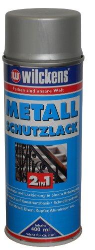 ROLLER Metall-Schutzlack - 2 in 1 - silber - hochglänzend - 400 ml
