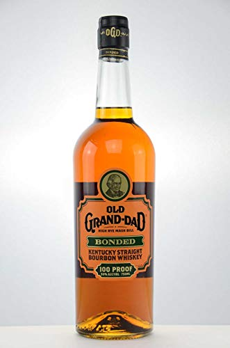 Old Grand Dad Bonded 100 Proof Bourbon Whiskey 1,0 Liter