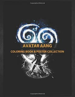 Coloring Book & Poster Collection: Avatar Aang Avatar Aangthe Last Air Bender Anime & Manga