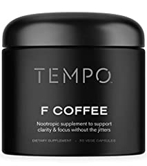 Brain Supplement & Focus Pills Better Than Coffee: The Tempo F Coffee is a natural nootropic supplement made to support clarity & focus without the jitters. Created to be an effective alternative to coffee, the Tempo brain booster & focus supplement ...