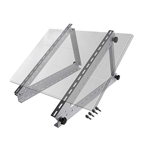 150W Solarmodul Solar Panel RV Aluminium Halterung Passend Befestigung Modul Panel Halterung Spoiler bis ca.71cm RV MOTORHOME für 12V Panel