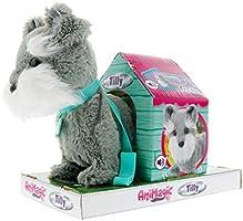 Animagic- Tilly El Terrier Mascota interactiva, Color Gris (32431)