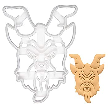 Realistic Krampus cookie cutter Suitable for Christmas party 1 piece - Bakerlogy