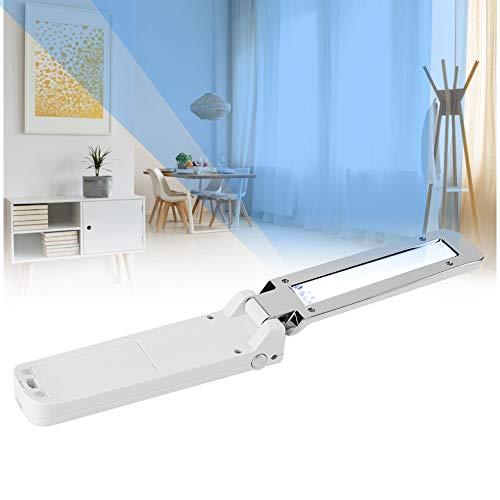 UV Desinfektionslampe Sterilisationslampe, Disinfection lamp UV Licht für Haus Schränke Schuhschränke Luftreiniger Reiniger Desinfektion Bakterien, Luftreiniger Lampe Tragbare UV + Ozon Sterilisator