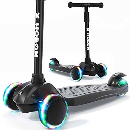 X-HOBON Scooter for Kids Ages 3-5&6-12,Toddler Scooter for...