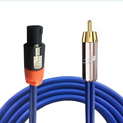 NL4FC 4 Pin al Cable de Audio RCA para Amplificador Altavoz de...