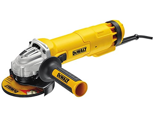 DeWALT DWE4206K-GB Angle Grinder, 240 V, Yellow/Black
