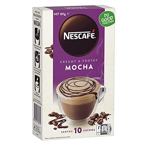 NESCAFÉ Mocha Coffee Sachets 40 Pack, 4 x 10 Pack