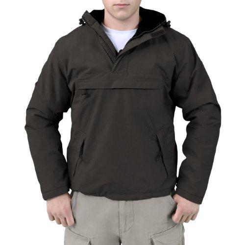 Surplus Veste coupe-vent pour homme - Noir - XXX-Large