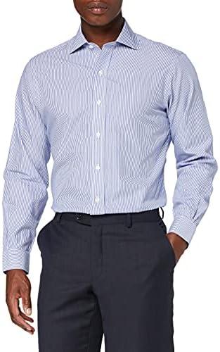 BROOKS BROTHERS Dress Non-Iron English Regent Stripe Camisa ...