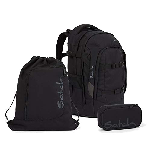 Satch Pack Blackjack Schulrucksack Set 3tlg.