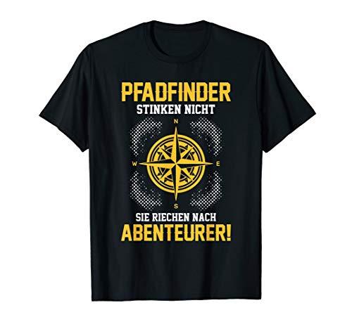 T-Shirt Pfadfinder - Pfadfinden Scout Witz Zelt Spruch T-Shirt