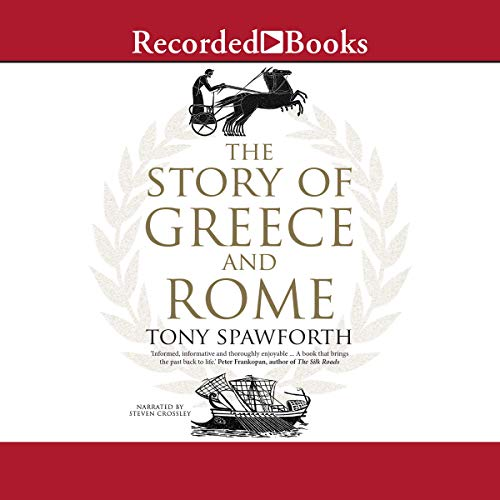 Couverture de The Story of Greece and Rome