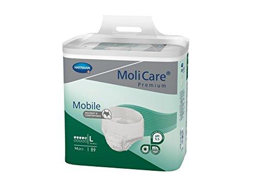 Hartmann MoliCare® Premium Mobile 5 Tropfen Gr. L (4x14 Stk.)