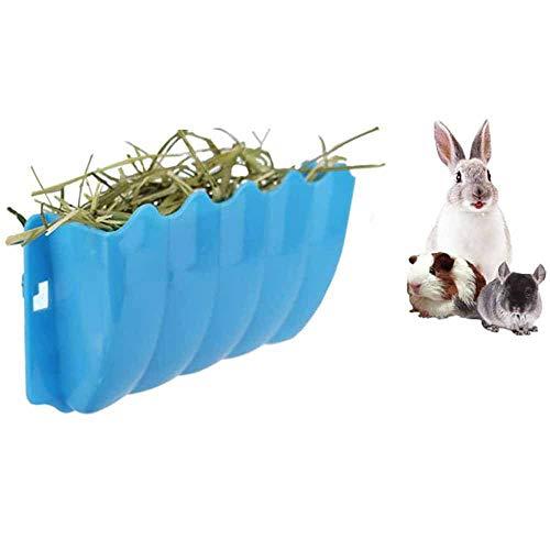 JKGHK Conejillos De Alimentador De Heno Hay Rabbit Alimentador Rack Rack De Pesebre Montado En La Pared para Pequeños Animales, Hurón