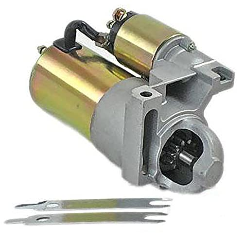 Rareelectrical NEW SBC BBC CHEVY 3HP HIGH TORQUE MINI STARTER FOR 327 350 400 COMPATIBLE WITH 153 TOOTH FLYWHEEL