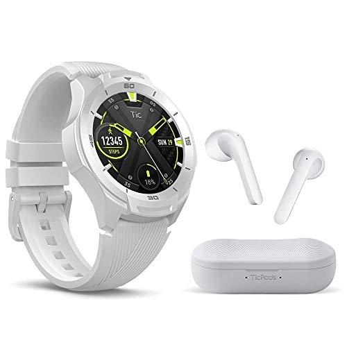 TicWatch S2 Smartwatch + TicPods 2 True Wireless Earbuds