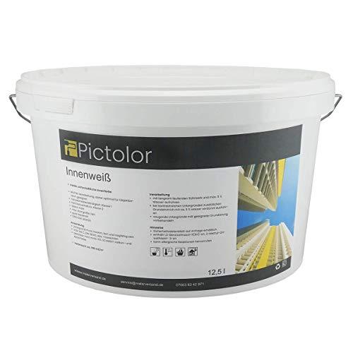 Pictolor Innenweiß 12,5 Liter Wandfarbe
